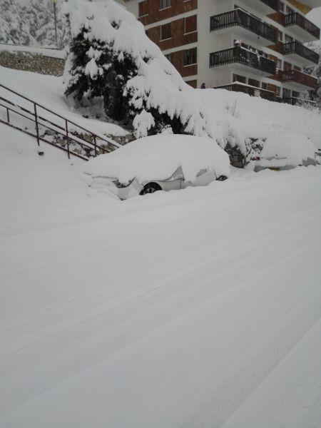 Vue extérieure de la location Location Appartement 66936 Gréolières Les Neiges