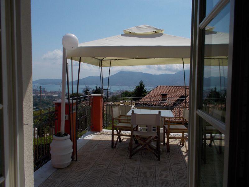 Vue de la terrasse Location Appartement 71388 La Spezia