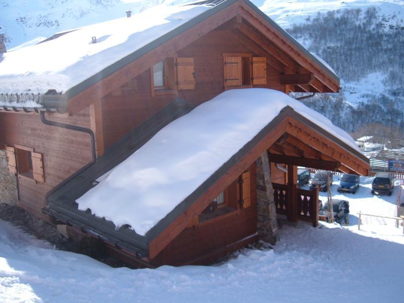 Vue extérieure de la location Location Chalet 73309 Les Menuires