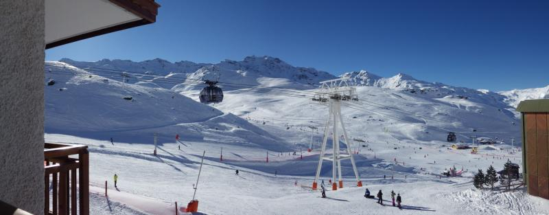 Vue du balcon Location Studio 73962 Val Thorens
