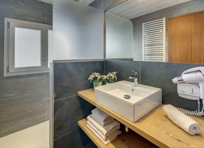 salle de bain 1 Location Appartement 75054 Le Grand Bornand