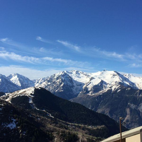 Vue du balcon Location Appartement 75867 Alpe d'Huez