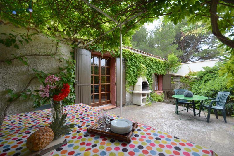 Vue de la terrasse Location Maison 76062 Les Baux de Provence