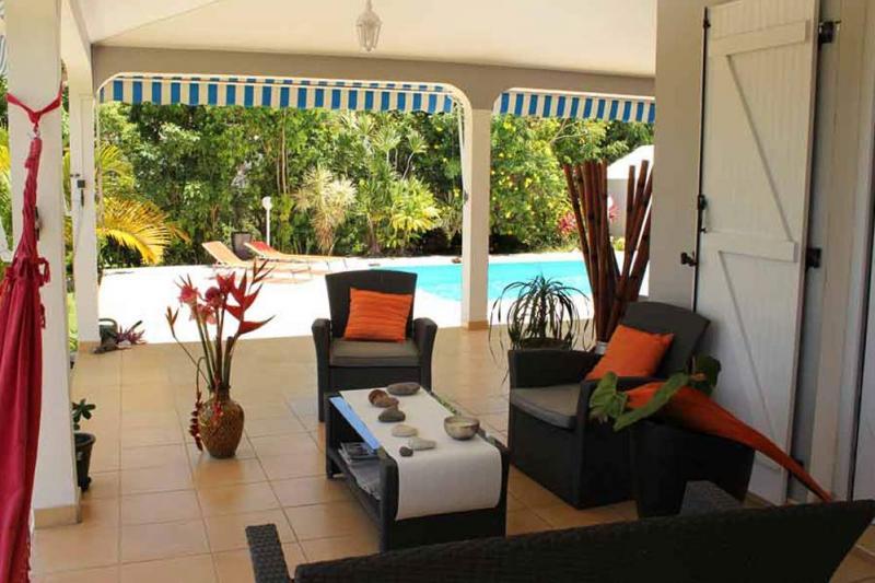 Terrasse Location Villa 77624 Gosier (Guadeloupe)