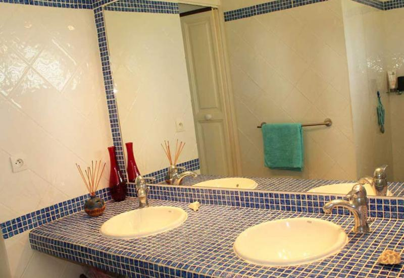 Salle d'eau 1 Location Villa 77624 Gosier (Guadeloupe)