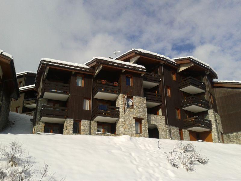 Vue extérieure de la location Location Appartement 80119 Valmorel