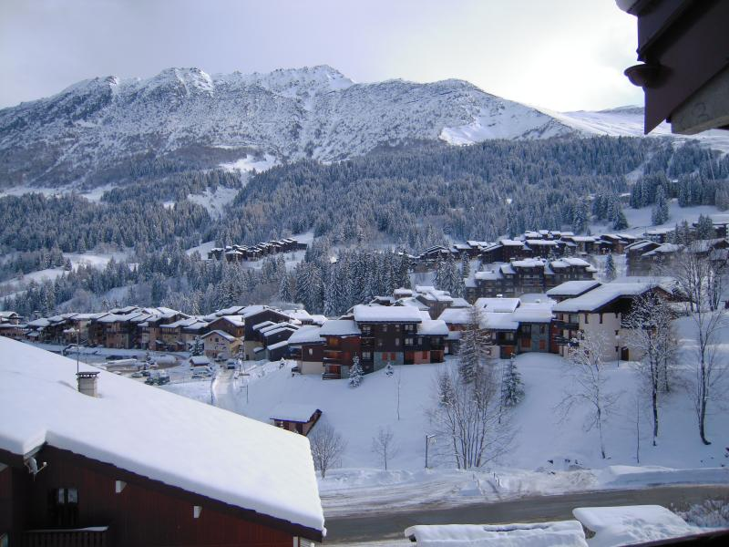 Vue du balcon Location Appartement 80119 Valmorel