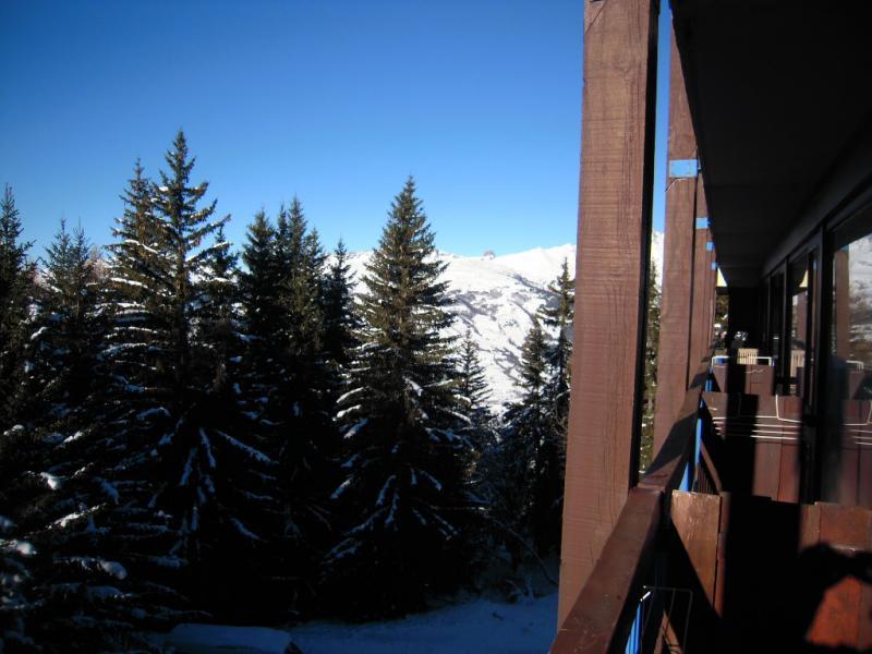 Vue du balcon Location Studio 80949 Les Arcs