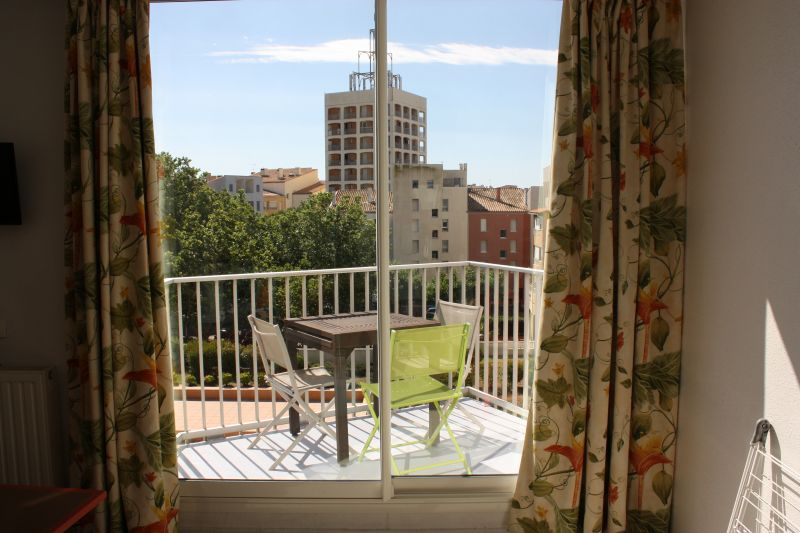 Vue du balcon Location Studio 85670 Cap d'Agde