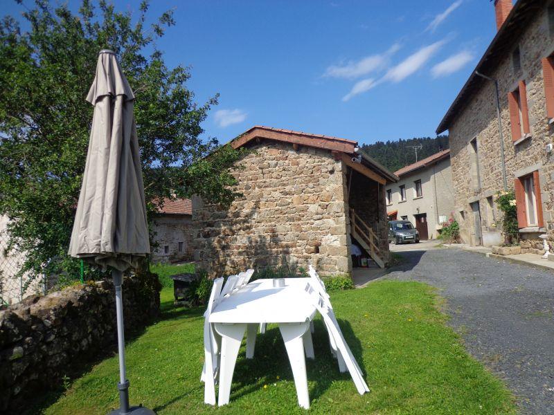 Jardin Location Gite 85778 Saint-Anthème