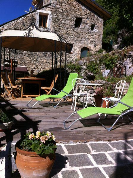 Terrasse Location Gite 92280 Valberg