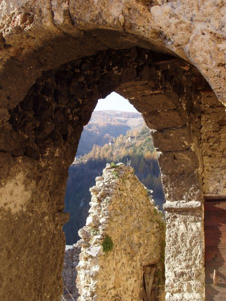 Vue de la terrasse Location Gite 92280 Valberg