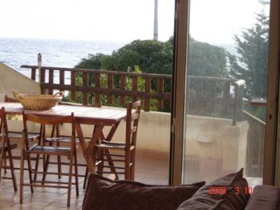 Vue de la terrasse Location Villa 93054 Gallipoli