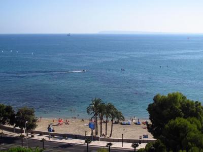 Vue du balcon Location Appartement 97347 Alicante
