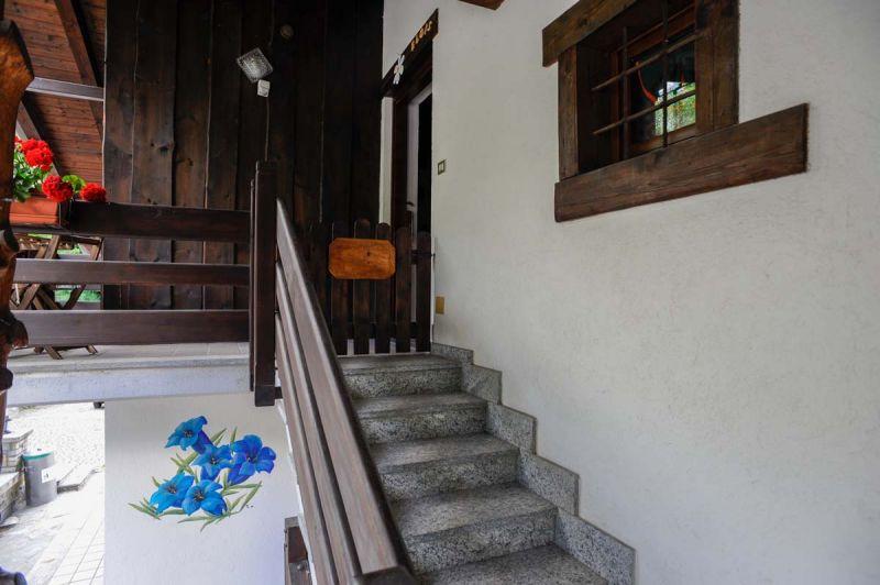 Vue du balcon Location Chalet 103368 Pila