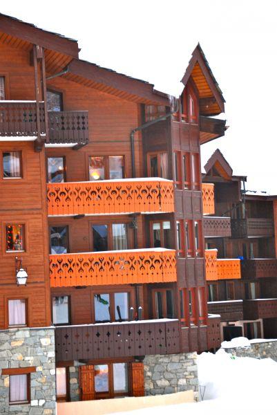 Vue extérieure de la location Location Appartement 112087 Valmorel