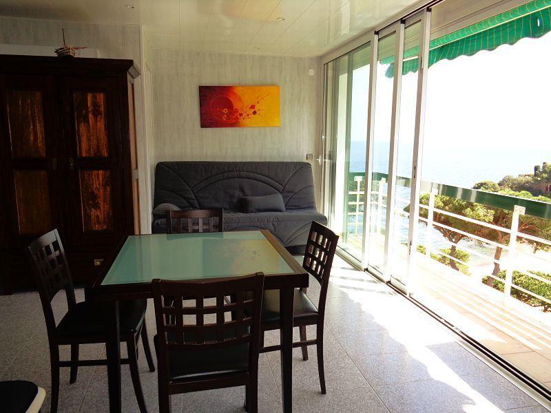 Vue depuis la location Location Appartement 112430 Tossa de Mar