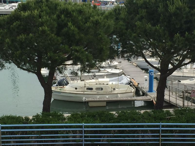 Vue depuis la location Location Appartement 115682 Port La Nouvelle