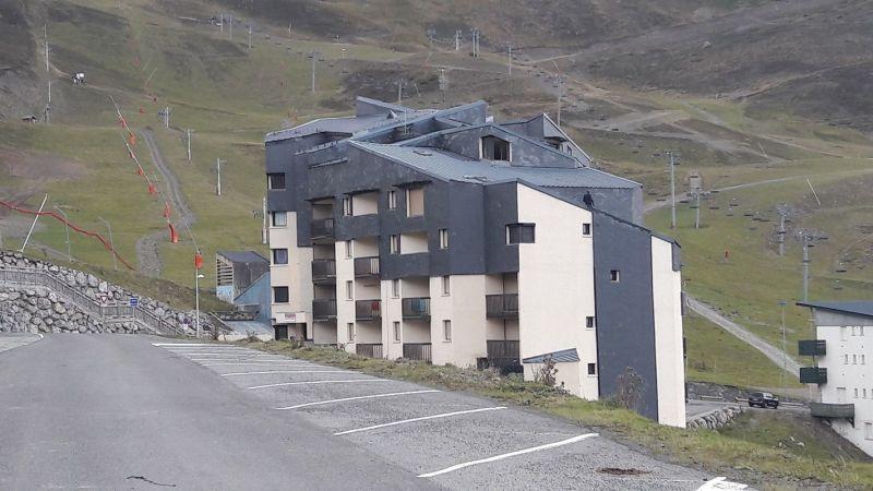 Vue extérieure de la location Location Appartement 117357 Saint Lary Soulan