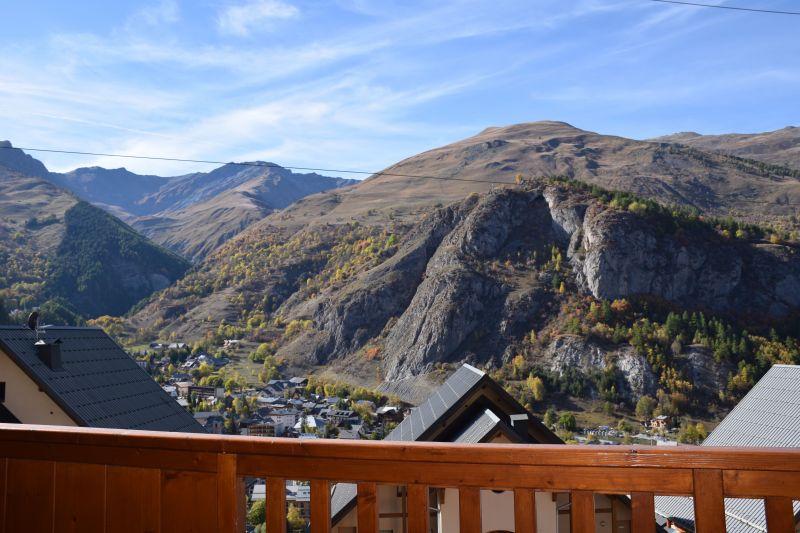 Vue du balcon Location Appartement 117722 Valloire