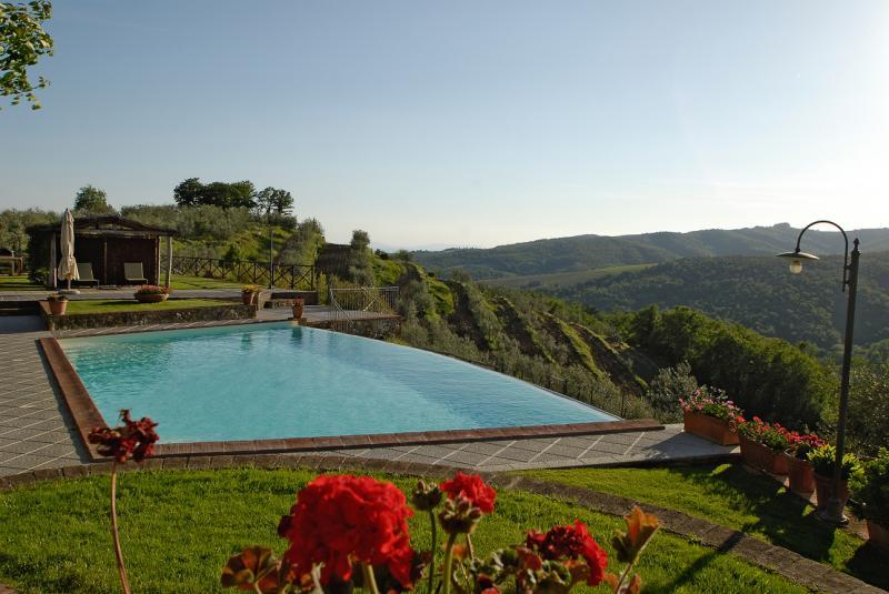 Vue de la terrasse Location Gite 65957 Sienne