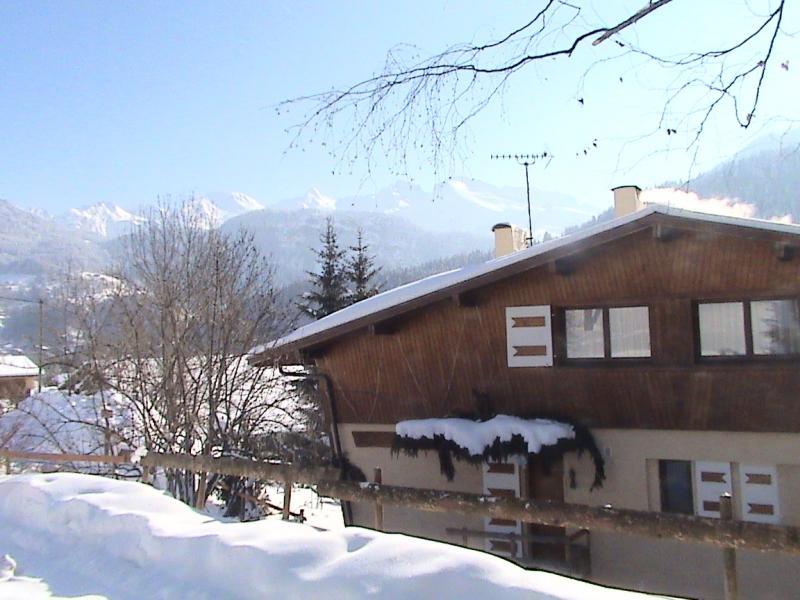 Vue extérieure de la location Location Chalet 66735 La Clusaz