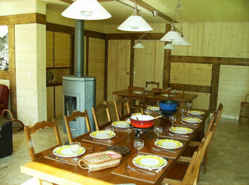 Salle à manger Location Chalet 66735 La Clusaz