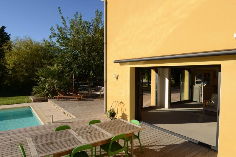 Vue de la terrasse Location Villa 75882 Nîmes