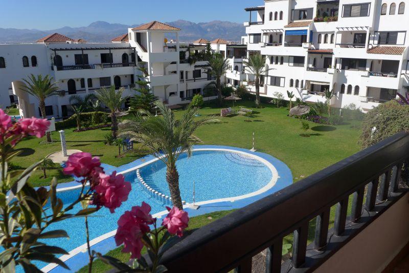 Vue de la terrasse Location Appartement 78409 Cabo Negro