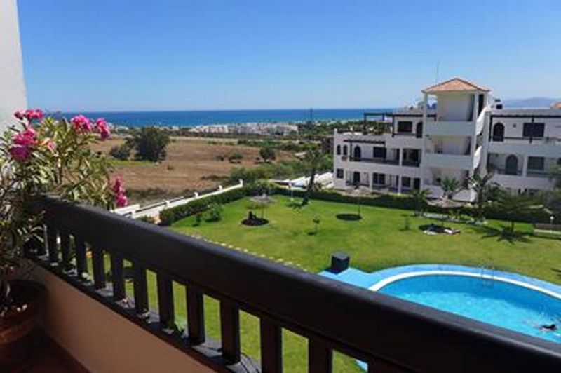 Vue du balcon Location Appartement 78409 Cabo Negro