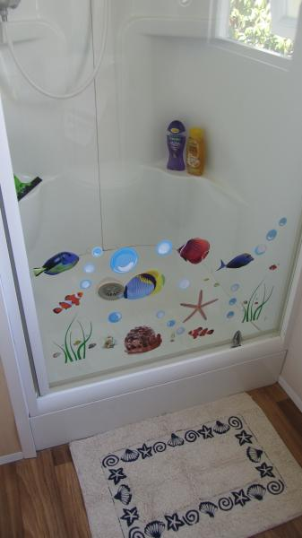 salle de bain Location Mobil-home 81101 Valras-Plage