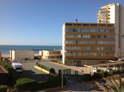 Vue du balcon Location Appartement 83377 Valras-Plage