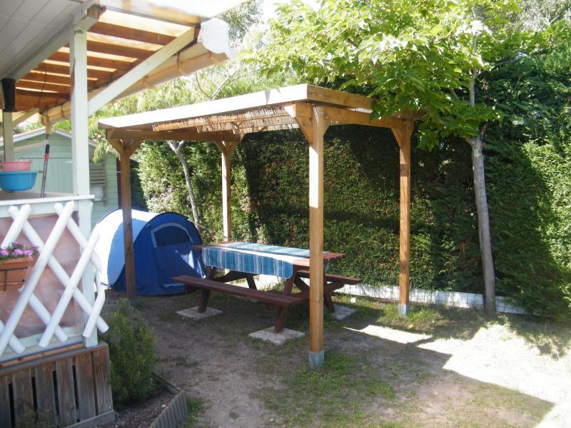 Jardin Location Mobil-home 93639 Arcachon
