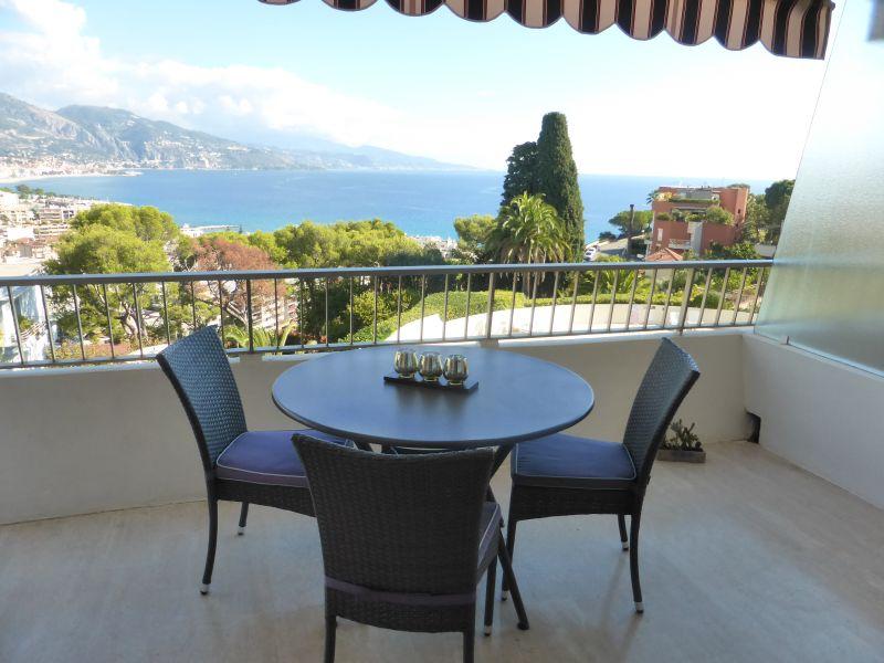 Terrasse Location Studio 94016 Roquebrune Cap Martin