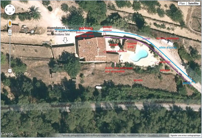 Vue autre Location Villa 94916 La Cadière d'Azur