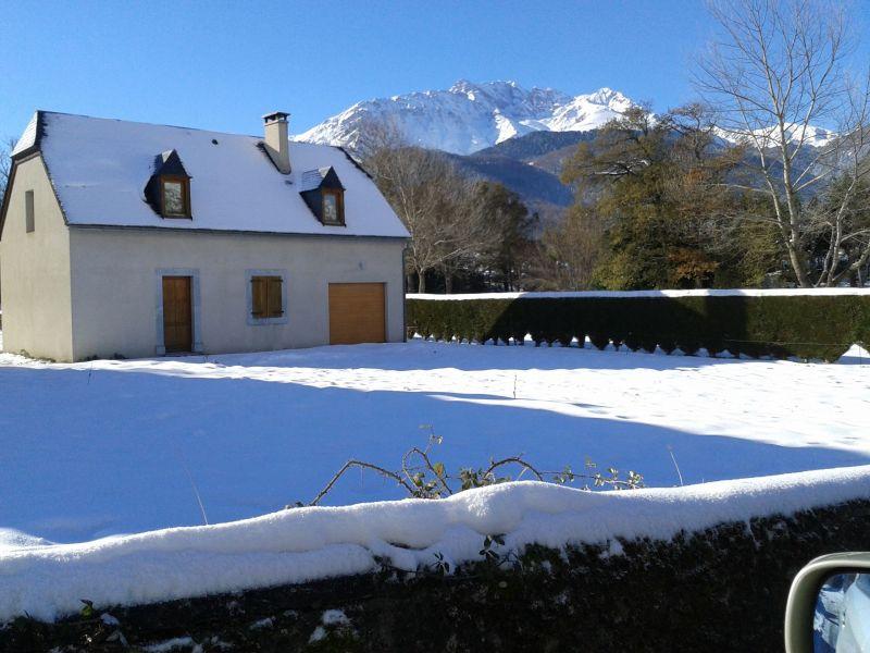 Vue extérieure de la location Location Maison 95270 Saint Lary Soulan