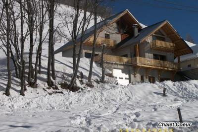 Vue ext�rieure de la location Location Chalet 97348 Saint Sorlin d'Arves