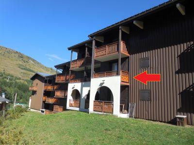 Jardin Location Studio 100442 Les 2 Alpes