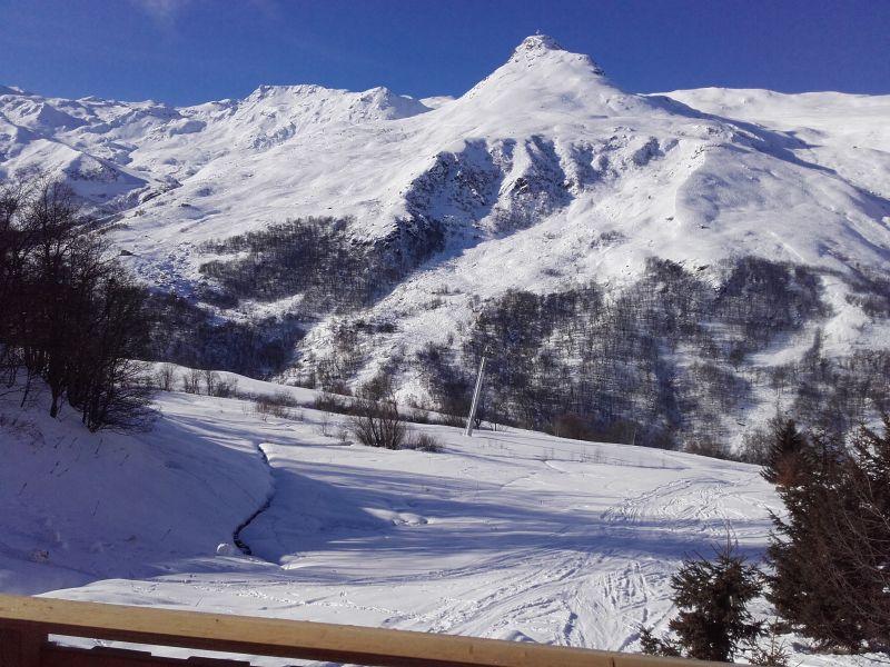 Vue depuis la location Location Chalet 102203 Les Menuires