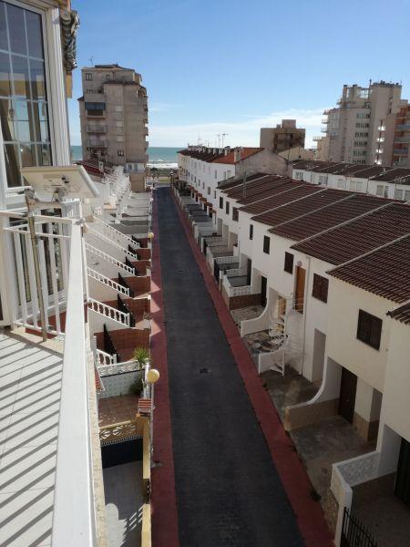 Vue de la terrasse Location Appartement 105380 Peñíscola