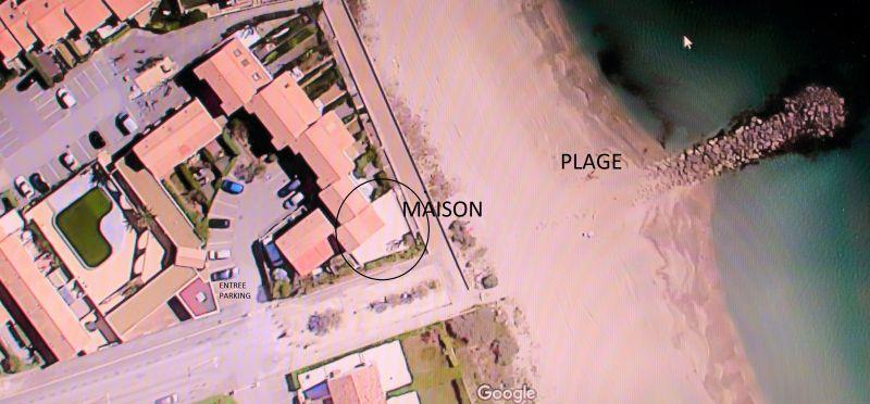 Plan de la location Location Maison 107467 Frontignan