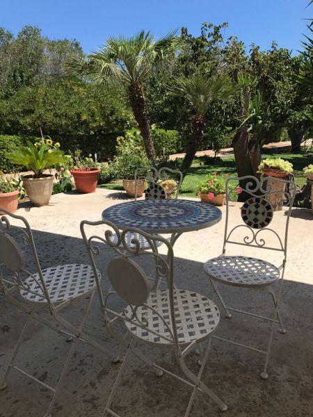 Vue de la terrasse Location Appartement 109073 Otranto