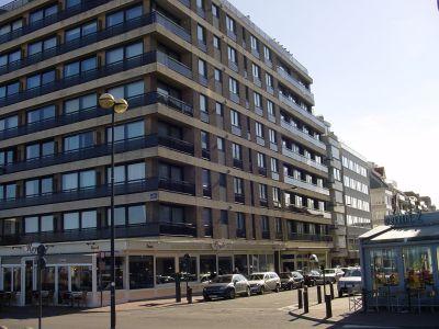 Vue extérieure de la location Location Studio 109423 Knokke-le-Zoute