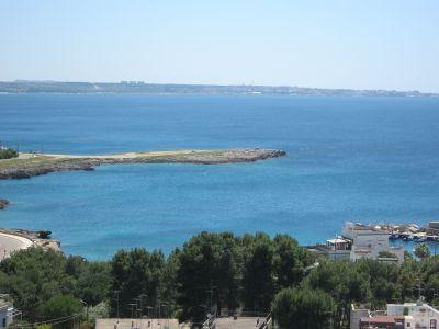 Vue de la terrasse Location Appartement 110002 Gallipoli