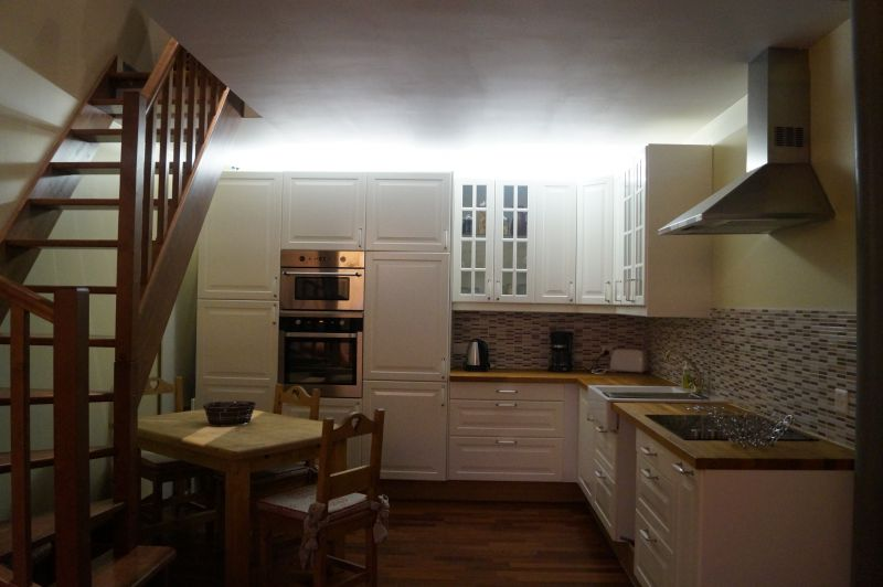 Cuisine américaine Location Appartement 111916 Megève