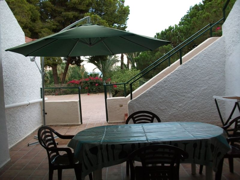 Vue de la terrasse Location Appartement 112638 Puerto de Mazarrón