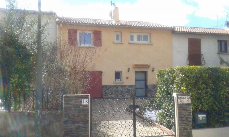 Vue extérieure de la location Location Maison 114825 Vernet les Bains