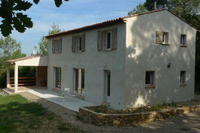 Vue extérieure de la location Location Villa 115618 Lorgues