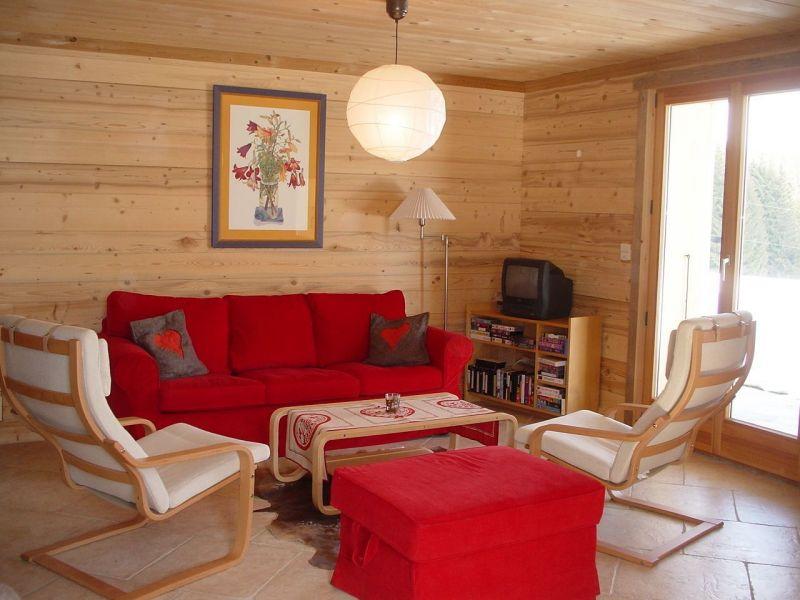Salon Location Appartement 115993 Praz de Lys Sommand