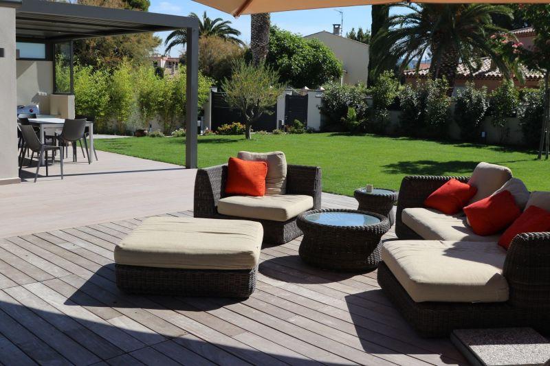 Jardin Location Villa 118107 Saint Cyr sur Mer